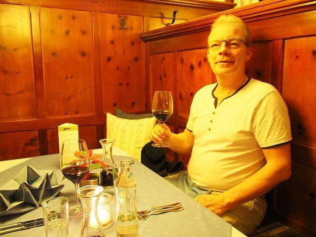 Abendessen im hotel zum mohren