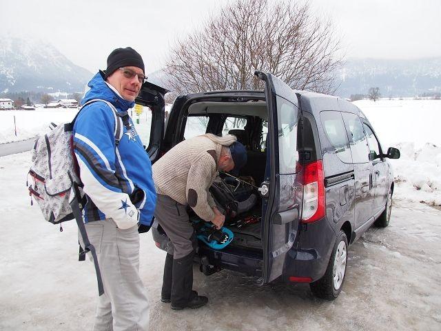 Schneeschuhwanderung mit Überraschungen