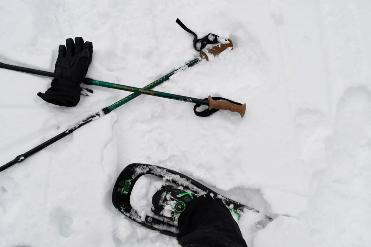 Startschuss zum Schneeschuhwandern