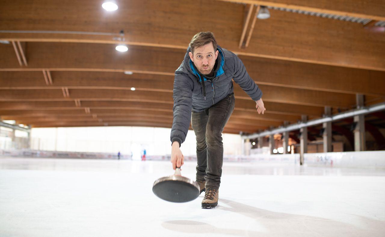 Wettkampf auf dem Eis